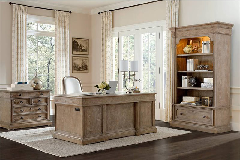 Stanley Wethersfield Estate-Executive Desk 518-15-03