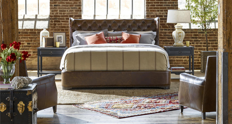 Universal Carlisle Queen Bed 751210B